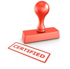 certifited